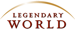 legendary world logo